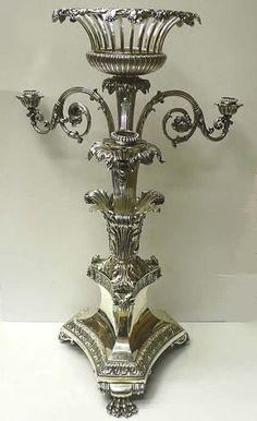 Georgian Silver Centrepiece by Benjamin Smith 1827 Benjamin Smith