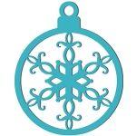 christmas ornament cutout
