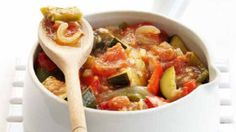 A ratatouille recipe, one of many recipes that can be found on the supermarket Morrisons website.