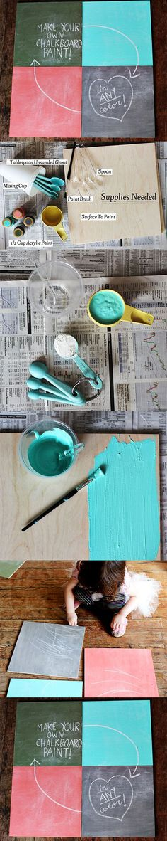 Diy Chalkboard | DIY & Crafts Tutorials