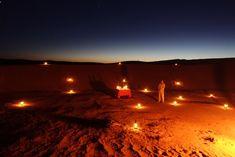 Dinner, Dar Ahlam Private Tent Camp, Sahara Desert, Morocco