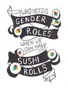 Sushi rolls quote