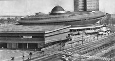 "Hala widowiskowo-sportowa ""Spodek"", Katowice, 1972 / ""Spodek"" multipurpose arena, Katowice, Poland, 1972"