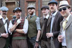 A Dapperness? A Doffing? A Consummacy? Ewan McGregor? Certainly London's Tweed Run!