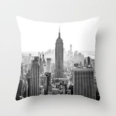 New York City Throw Pillow by Studio Laura Campanella - $20.00