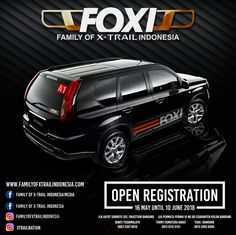 Foxi registration Family of xtrail indonesia