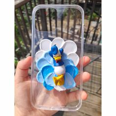 Donald Duck Decoden Phone Case - iPhone 12 pro