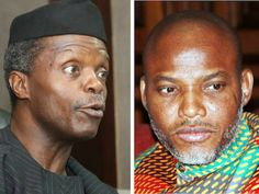 "ABUJA  Leader of Indigenous People of Biafra IPOB Mr. Nnamdi Kanu yesterday tackled the Acting President Prof. Yemi Osinbajo for declaring the Biafran agitation unconstitutional.  Kanu in a world press interview he held through his team of lawyer in Abuja he said that Osinbajo's view about Biafra was ""obviously misconstrued and characteristically faulty"" in spite of his rank as a Senior Advocate of Nigeria.   In an announcement by his legal advisor Mr. Ifeanyi Ejiofor Kanu demanded that…"