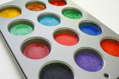 home made watercolors.  Go to the bottom of the blog for the recipe