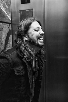 """Dave Grohl in an Elevator by Pine Ear on Flickr. """