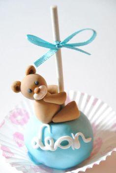 Cookie Bear Pops Tutorial - by SweetLin @ CakesDecor.com - cake decorating website