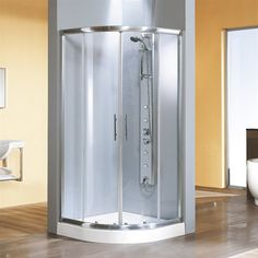 Rounded Shower Enclosure