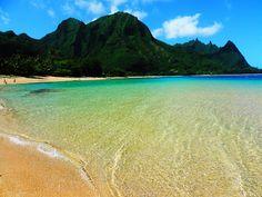 Tunnels Beach, Kauai, Hawaii - Csaba