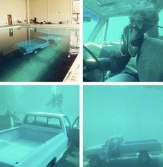 BTS of When Elena & Matt go over Wickery Bridge in his truck & ends up drowning in the same place as her parents. :-(