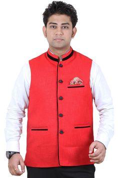 Modi Jacket, Jackets Online, Party Wear, Vest, Cotton, How To Wear, Stuff To Buy, Fashion, Moda