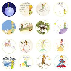 Folie du Jour: Le Petit Prince The Little Prince free bottle cap images