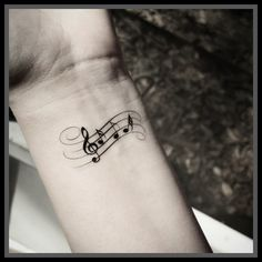 sheet music tattoo - Google Search More
