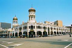 La mosquée de Juma Masjid en Afrique du sud