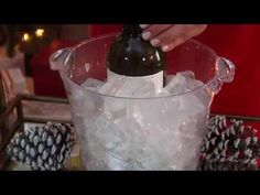 How To Chill White Wine In 5 Minutes Video Via Baked By Joanna With Cost Plus World Market