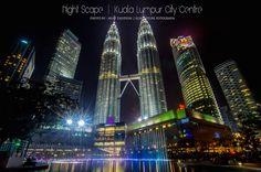 KLCC | Kuala Lumpur Cuty Centre | Night Scape | Malaysia | Icon | Ikon | Beautiful Malaysia