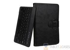 "Cooper Backlight Executive Universal 7"" & 8"" Tablet Keyboard Folio in Black"