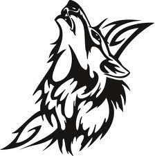 схемы вышивка силуэты волк - Поиск в Google