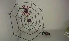 Spinnen van kastanjes