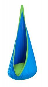 La Siesta Joki Hanging Crows Nest Hammock - Buy Toys from the Adventure Toys Online Toy Store, where the fun goes on and on. Hanging Hammock Chair, Indoor Hammock, Hammock Stand, Outdoor Rocking Chairs, Hanging Fabric, Crow's Nest, Lawn Furniture, Baby Swings, Cushion Filling