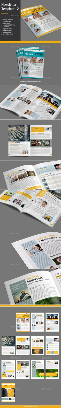 Newsletter Template - 2 - Newsletters Print Templates Download here : https://graphicriver.net/item/newsletter-template-2/12758650?s_rank=88&ref=Al-fatih