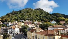 """42 Likes, 7 Comments - Nelson Ferreira (@superferreira) on Instagram: """"Downtown Sintra with the Castle of the Moors (Castelo dos Mouros) atop the Sintra Mountains. It's…"""""""