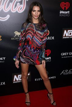 Emily Ratajkowski at the 2017 Leather & Laces Party at Hughes Manor in Houston, Texas, on February 4, 2017