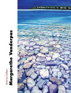 "Artist to Collect: Margarethe Vanderpas ""Interpreting the Light Fantastic"" by Lorie Lee Steiner ARABELLA Summer 2013"