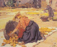 Corn in the sun - Jose Malhoa