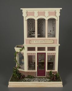 Ice Cream Parlor | miniature room |   | Toys | National Museum of Play Online Collections | The Strong