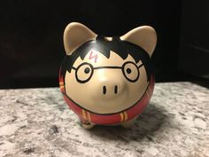 Harry Potter Hand Painted Ceramic Piggy Bank Small