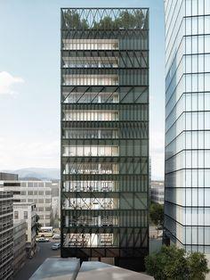 mecanoo plans 14-floor namdeamun office building next to historic seoul market