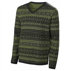Instantly look 1920s mens fashion with a fair isle pattern sweater like this one. http://www.vintagedancer.com/1920s/1920s-shirts-men/