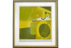 Midcentury Abstract Still Life on OneKingsLane.com, $475