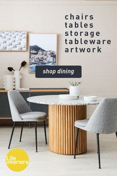Dining Room Furniture, Shop Dining Tables, Dining Tables, Sideboards & More! Dinning Chairs, Dining Room Furniture, Dining Area, Dining Tables, Cosmos, Deck Table, Timber Table, Home Decor Kitchen, Apartment Living