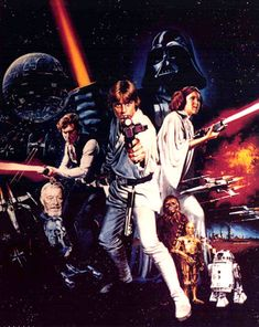 Star Wars, episodes 4,5,6. The original and the best. Timeless and ahead of it's time special effects.