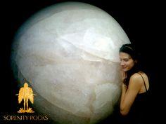 World's Largest Crystal Sphere   www.SorenityRocks.com