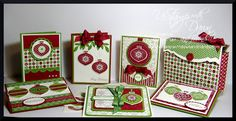 11/28/2012; Lisa Foster at 'Pretty Pastimes' blog; Ornamental Gift Set; see individual photos for each item in this group