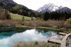 SLOVENIË | Het onwerkelijke, blauwgroene bronwater van Zelenci