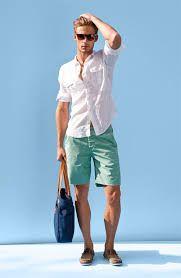 bcdb4fe7f Pantalones cortos para hombres. Ideas de outfits con pantalones cortos para  hombres. Cómo llevar