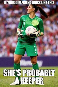 Tri-Cities, Washington: born and raised. That's why she always wears green when she plays. Hope Solo.