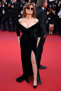 Susan Sarandon Cannes May 2017