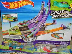 Pista Hot Wheels Split Speeders