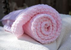 Knit baby blankets on ♥ idohandcraft.etsy.com ♥  Hand knitted baby blanket pink girl baby blanket toddler nursery cover kids blanket handmade children bedding custom