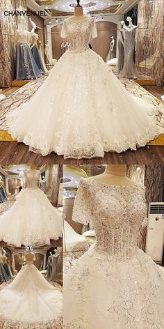 LS08741 special wedding dresses lace ball gown corset back wedding gowns  2017 robe de mariage real 0519f38a5377
