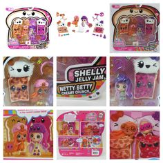 PB & J Slumber Party set including Netty Betty Creamy Crunch and Shelly Jelly Jam Unicorn Birthday Parties, 10th Birthday, Kawaii Crush, Minnie Mouse Toys, Party Pops, Horse Accessories, Slumber Parties, Dolls, Cool Stuff
